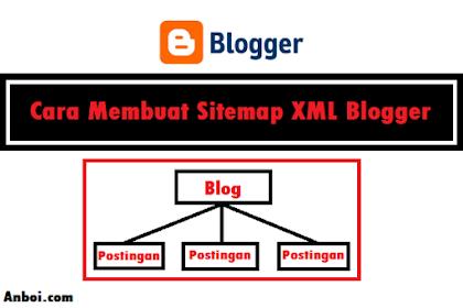 Cara Membuat Sitemap XML Blogger dan Submit di Webmaster