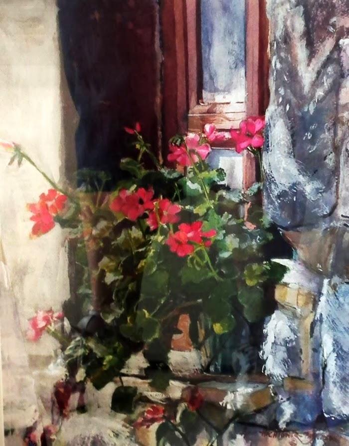Акварельные картины. Anne Hightower-Patterson