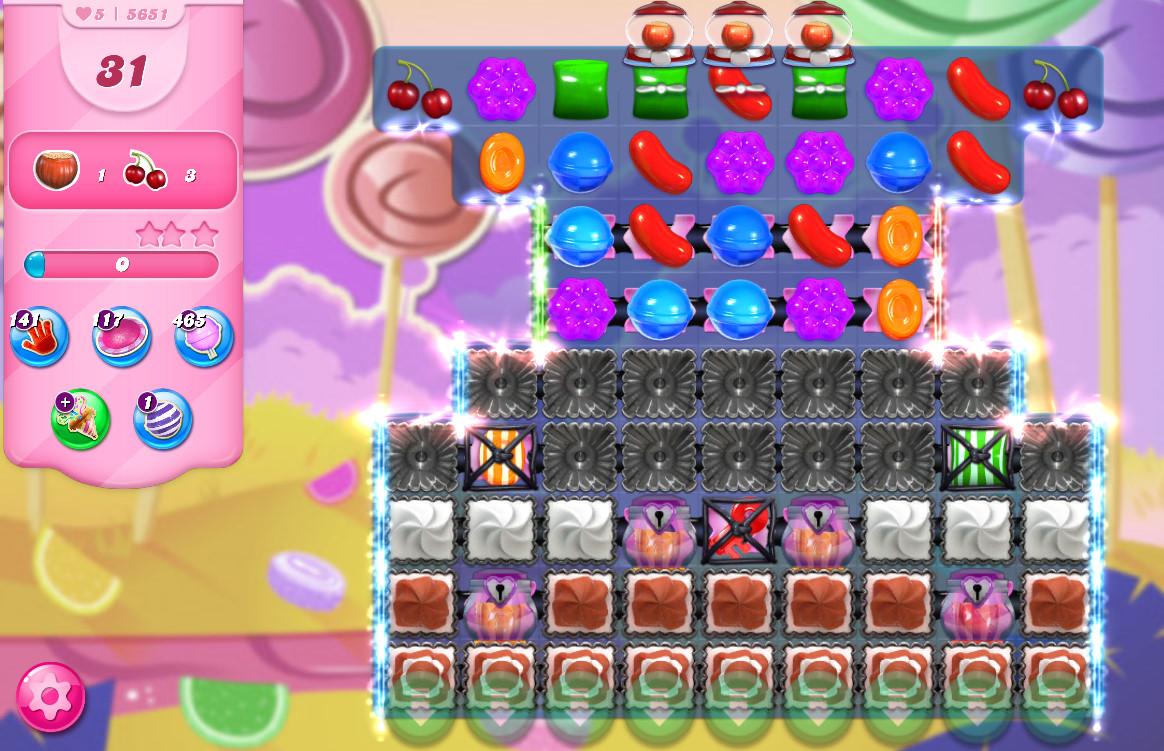 Candy Crush Saga level 5651