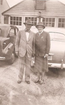 Fred and Julia Slade, Tanner Place 1949
