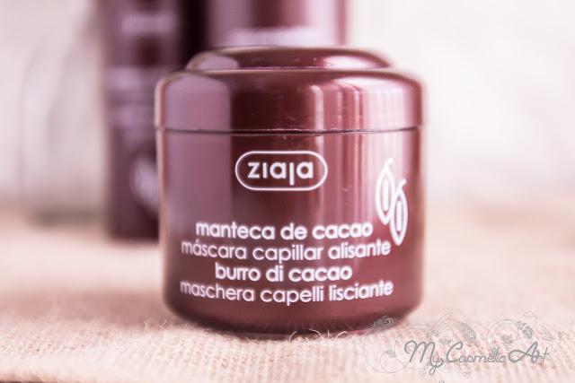Mi experiencia con la línea capilar Cocoa Butter de Ziaja