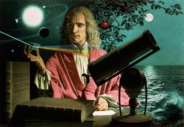 newton, Isaac newton, interesting facts, rochak tathya