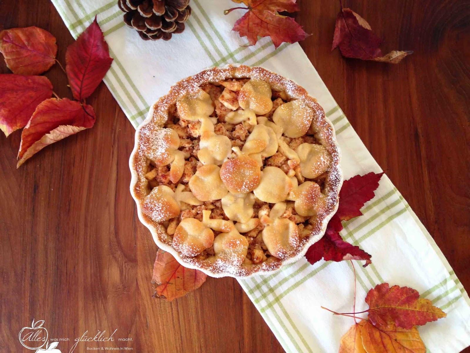 Herbstliche Apfel-Waldhonig-Nuss-Tarte Barbara Priesching