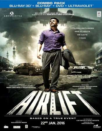 Airlift 2016 Hindi 720p BRRip ESubs