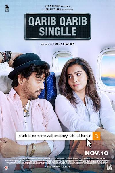 Poster of Qarib Qarib Singlle (2017) Full Movie Hindi 720p HDRip Free Download