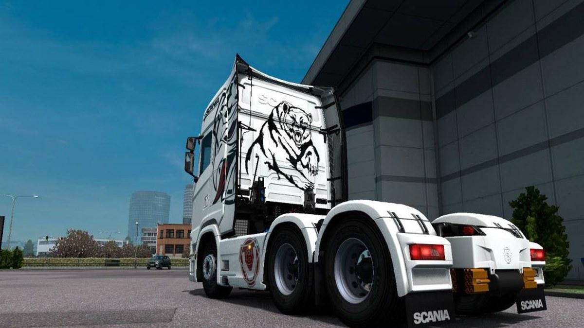 Polar Bear Skin Scania S
