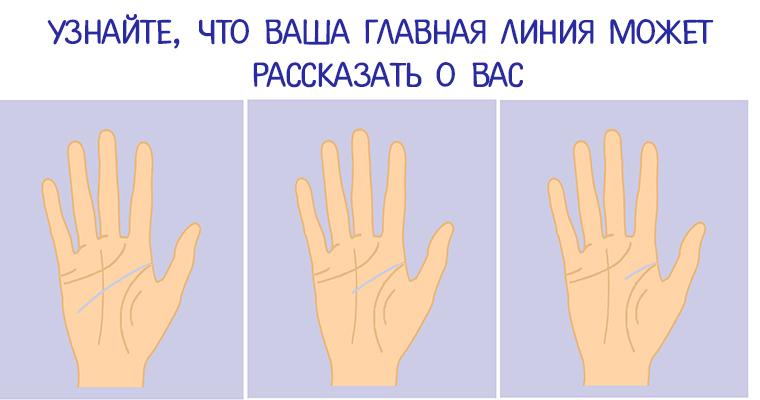 Линия на руке сексуальной привлекательности