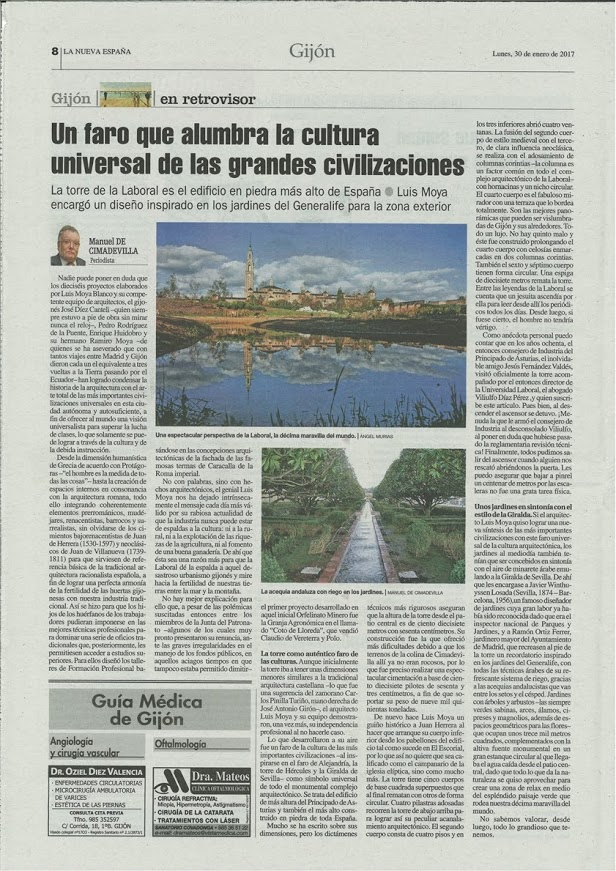 LA UNIVERSIDAD LABORAL EN LA PRENSA