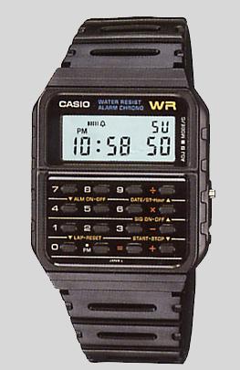 3babf8e3415 Todo mundo deve se lembrar da popularidade dos relógios com calculadora