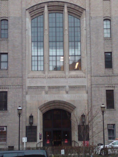 travels: Columbia-Presbyterian Complex, Washington Heights