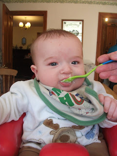 Baby weaning - baby lead weaning