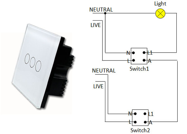 Touch Lamp Switch Wiring Diagram Moreover 2 Way Light Switch Wiring