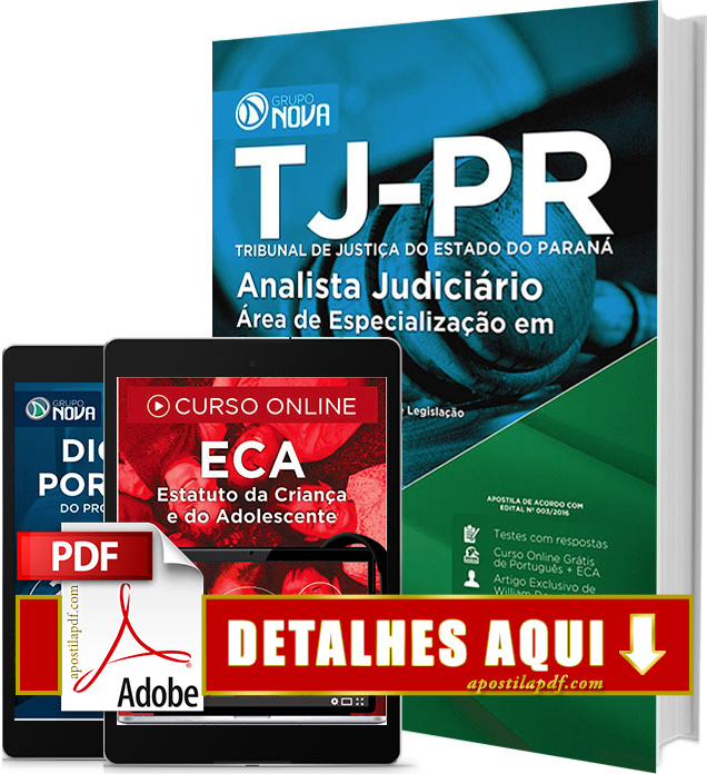 Apostila TJ PR 2016 PDF Impressa Analista Judiciário Serviço Social