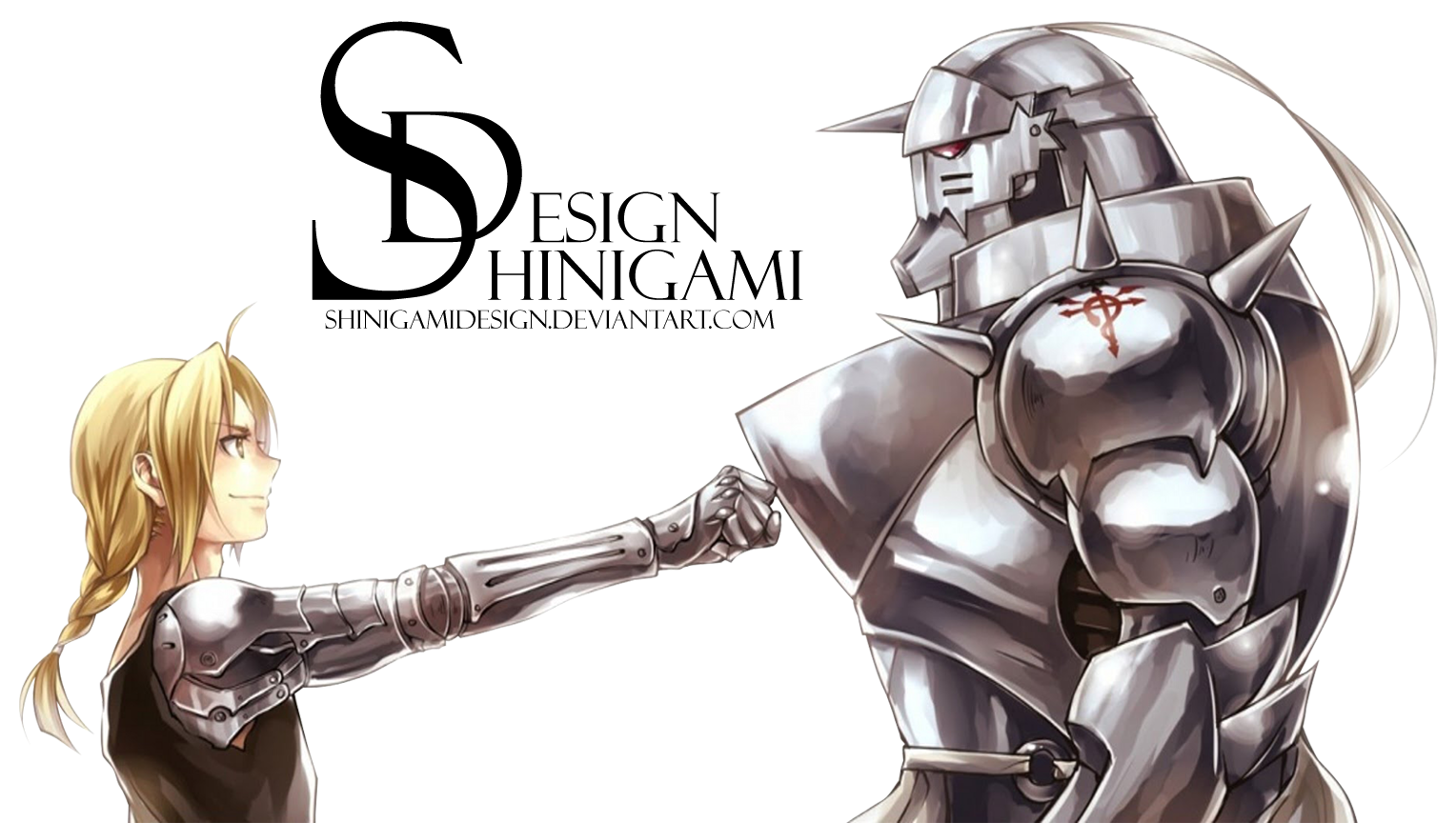 Edward and Alphonse - Render