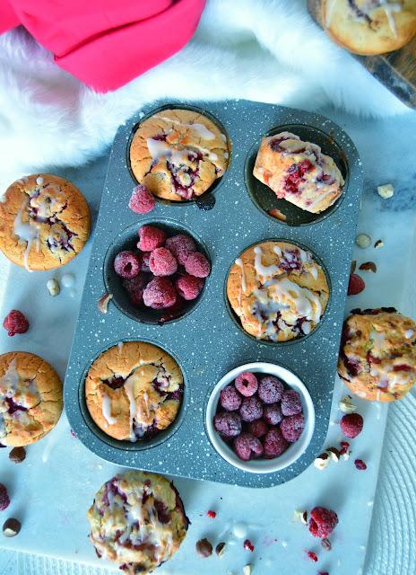 Muffins Vegans Moelleux et Sans Gluten aux Framboises / Super Moist Vegan Gluten Free Raspberry Muffins