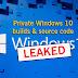 32TB of Secret #Windows10 Internal Builds & Partial Source Code Leaked Online