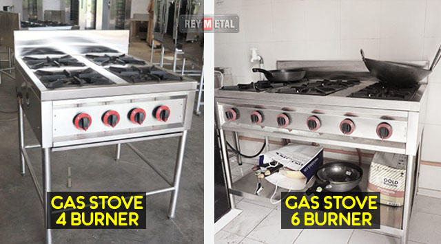 Harga gas stove burner (Stainless steel & Iron Cast)