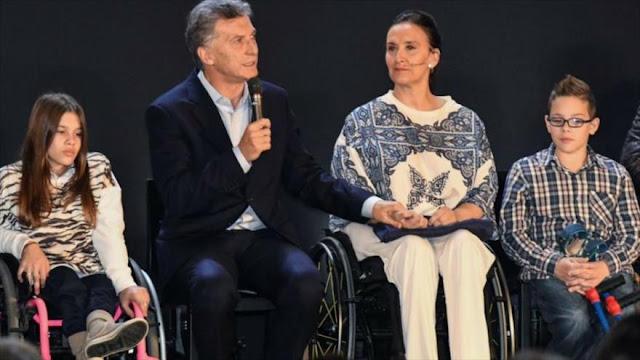 Macri abandona su política para discapacitados ante las protestas