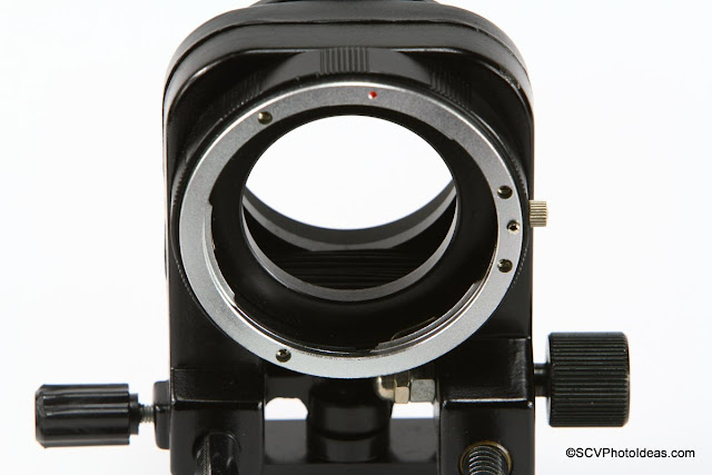 Bellows EF front lens mount detail
