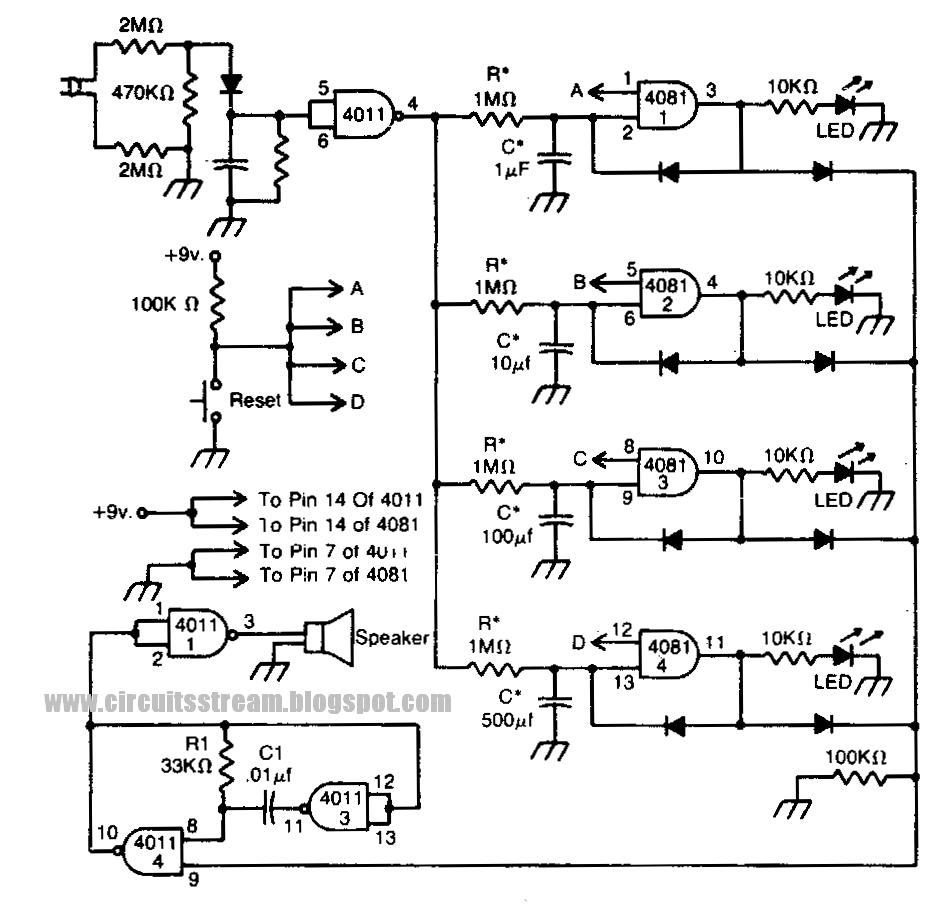 simple power circuit diagram [ 943 x 907 Pixel ]