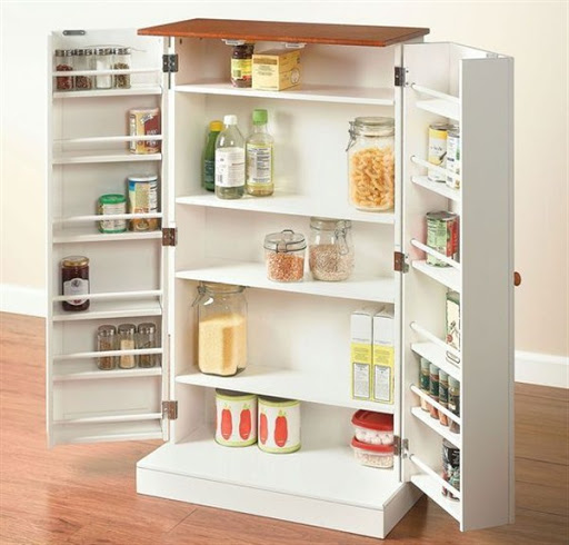 small pantry cabinet