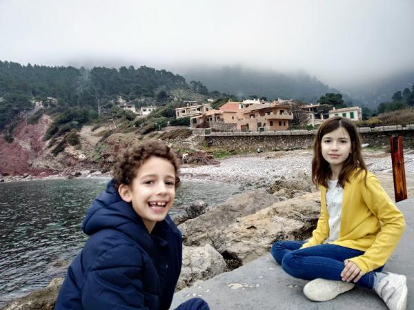 Puerto de Valldemosa con niños