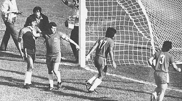 Chile y Unión Soviética en Clasificatorias a Alemania Federal 1974, 21 de noviembre de 1973