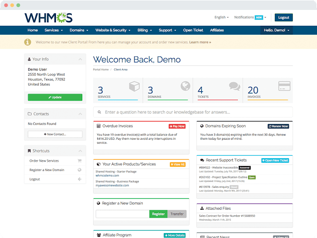 WHMCS - Web Hosting Automation Made Easy [LIFETIME LICENSE]