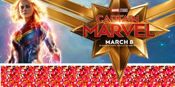 Captain Marvel: How To See the Magic Eye Posters - The Geek