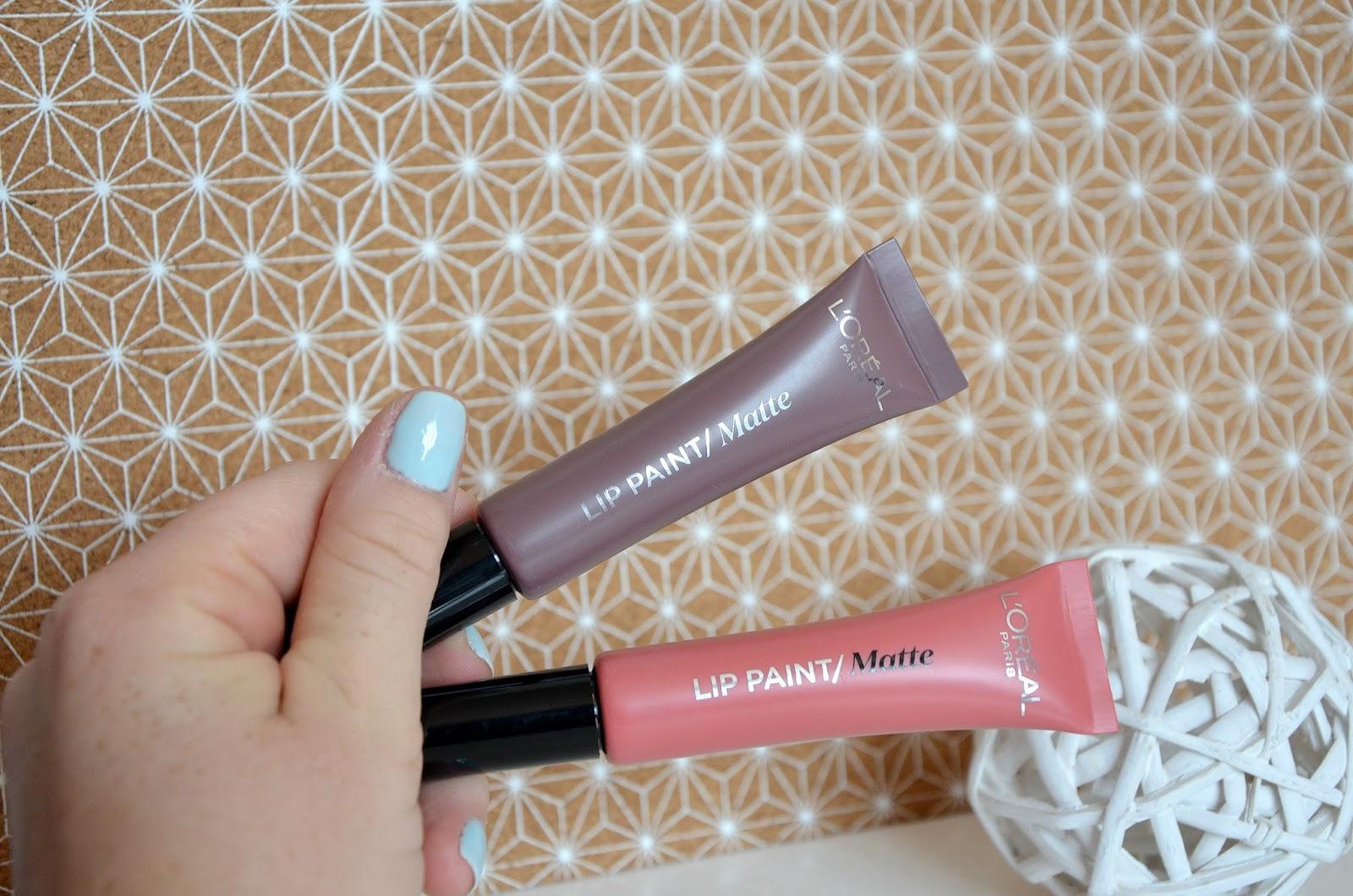 L'Oréal Paris Rouges à lèvres 201 hollywood beige & 212 nude-ist infaillible lip paint matte