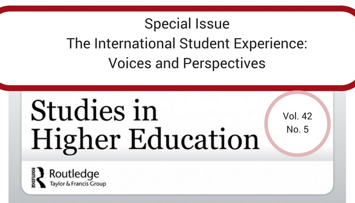 International Student Experience Research Studies in Higher Education