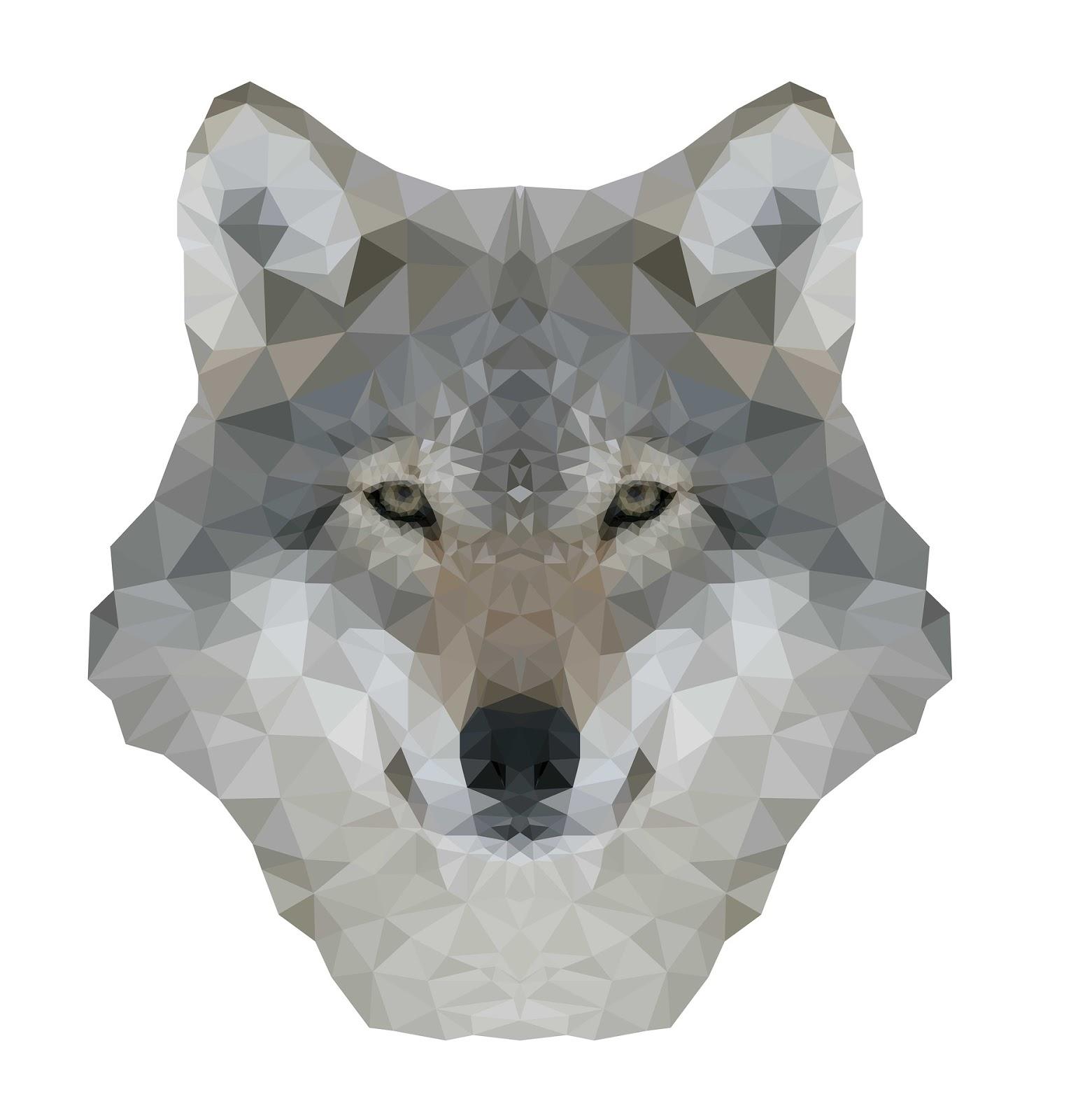 Wilk Symbol Instynktu Siły I Okrucieństwa Myśli W Wielkim Mieście
