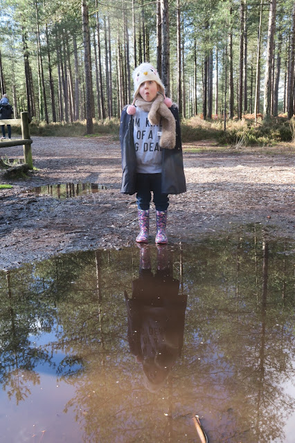 Lily and the new wellies