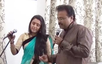 En mel vizhuntha Cover Ganesh Sahana
