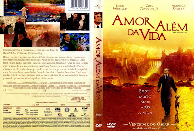 Filme Amor Além da Vida (What Dreams May Come) DVD Capa