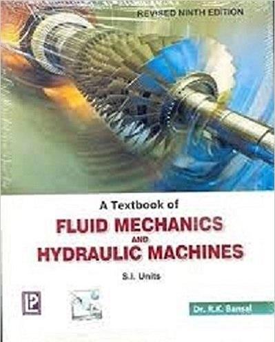 a textbook of fluid mechanics by rk bansal