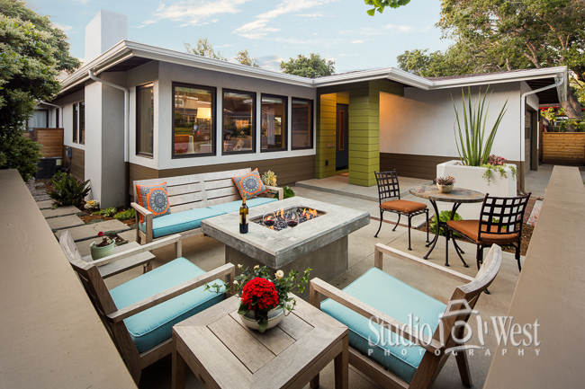 mid-century home remodel, AIACCC Home tour