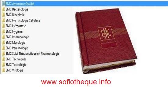 Télécharger EMC Biochimie PDF gratuit