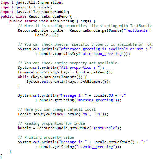 Just Java: ResourceBundle Class In Java