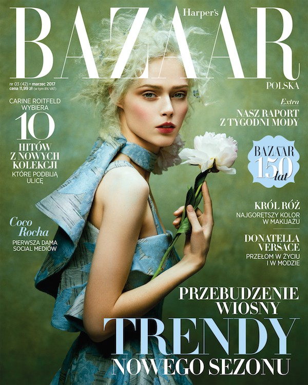 Coco Rocha for Harpers Bazaar Polska by Zhang Jingna, styling Phoung My