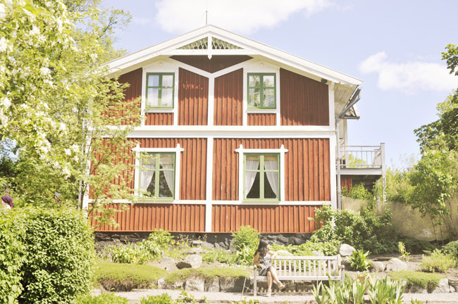 Best Stockholm Instagram Spots - Skansen house
