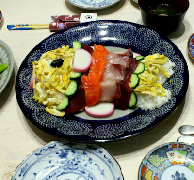 鯉のぼりちらし寿司