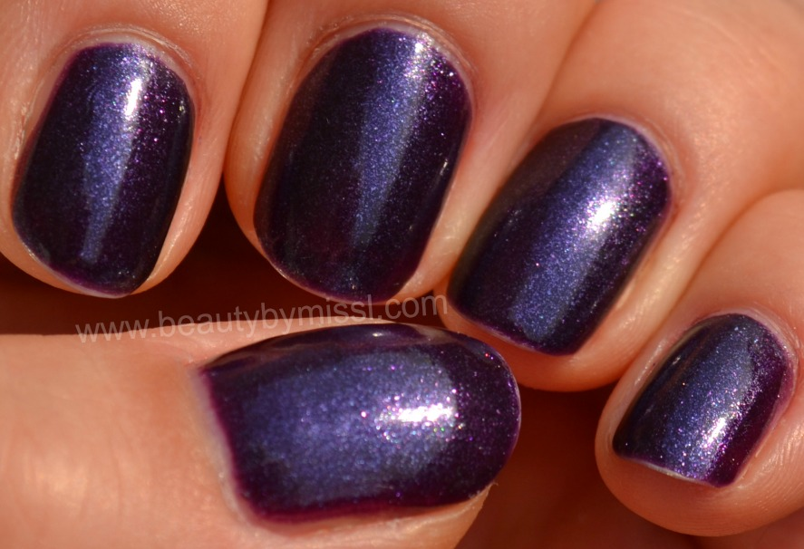 nails of the day, notd, purple nails