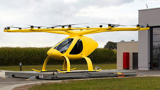 Small Helicopter for emergency