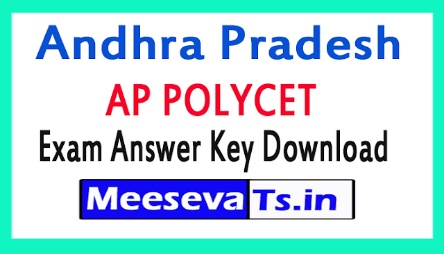 AP POLYCET Exam Answer Key Download 2018