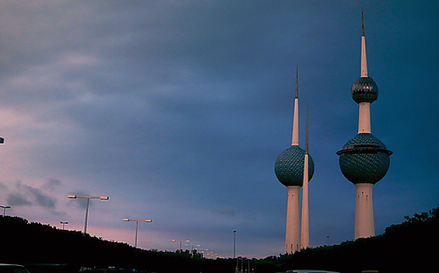 Image Attribute: Kuwait Towers at sunset, photo by Damon / Creative Commons