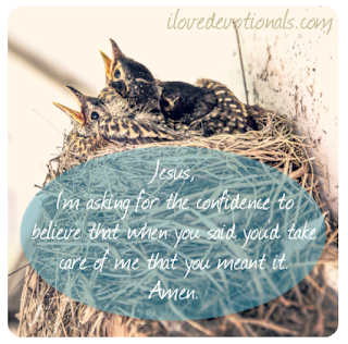 A prayer for when you are worried