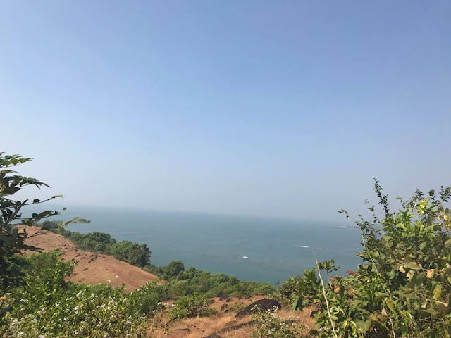 Image / photo / Picture of Chapora Fort in Goa