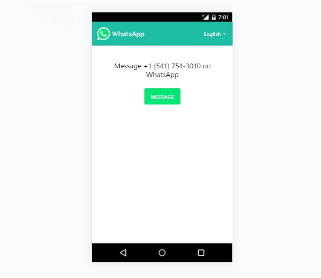 3 طرق لارسال رسالة نصية لشخص ما عبر واتس اب دون إضافتة إلى قائمة الاتصال الخاصة بك
