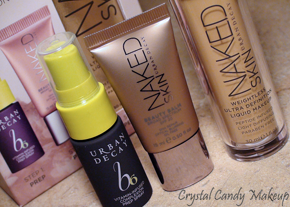 Commande Sephora - Start Getting Naked Complexion Kit Urban Decay